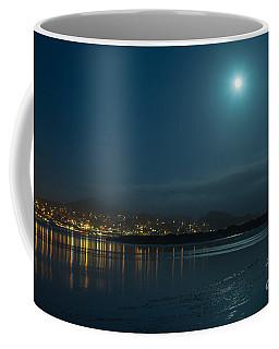 Morro Bay At Night Coffee Mug