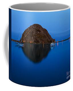 Morro Bay Calm Morning Coffee Mug by Terry Garvin