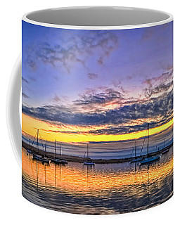 Coffee Mug featuring the photograph Morro Bay Panorama by Beth Sargent