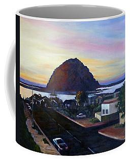 Morro Rock At Night Coffee Mug