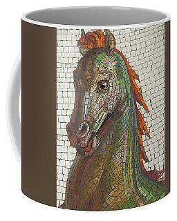 Mosaic Horse Coffee Mug