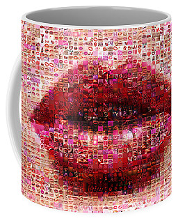Mosaic Lips Coffee Mug