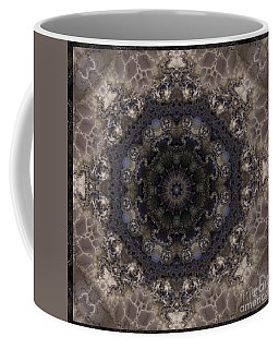 Mosaic Tile / Gray Tones Coffee Mug