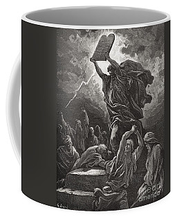 Moses Breaking The Tablets Of The Law Coffee Mug