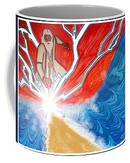 Moses Coffee Mug by Justin Moore