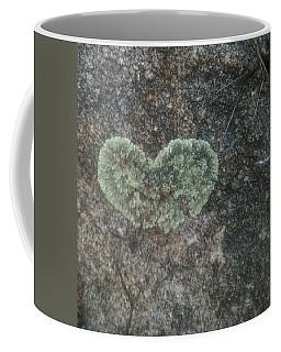 Moss Heart  Coffee Mug