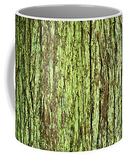 Moss On Tree Bark Coffee Mug
