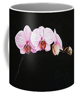 Moth Orchid Coffee Mug by Marna Edwards Flavell