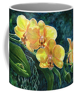 Moth Orchids Coffee Mug