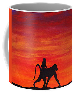 Mother Africa 4 Coffee Mug by Michael Cross