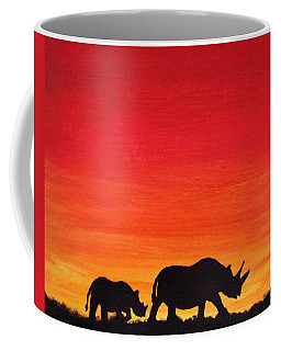 Mother Africa 5 Coffee Mug by Michael Cross