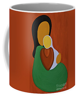 Mother And Son Coffee Mug