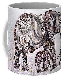 Mother Elephant Coffee Mug