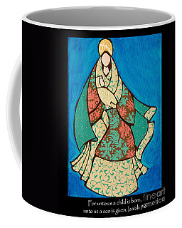 Mother Mary And Baby Jesus Coffee Mug