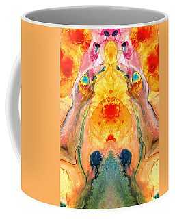 Mother Nature - Abstract Goddess Art By Sharon Cummings Coffee Mug