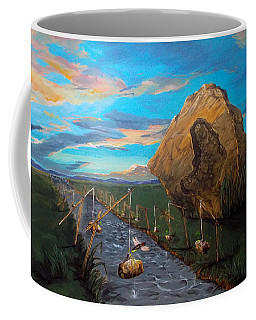 Mother Of Anguishes  Coffee Mug by Lazaro Hurtado