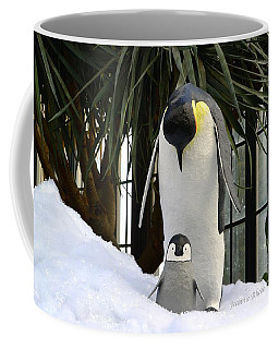 Mother Penguin And Baby Coffee Mug