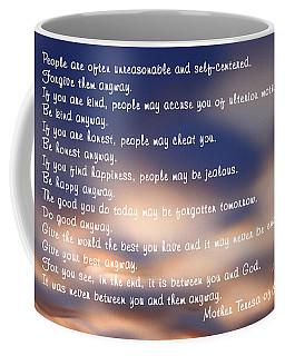 Mother Teresa Of Calcutta Coffee Mug