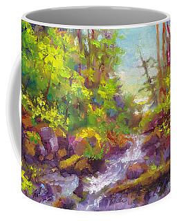 Mother's Day Oasis - Woodland River Coffee Mug