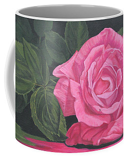 Mothers Day Rose Coffee Mug by Wendy Shoults