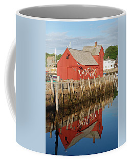 Coffee Mug featuring the photograph Motif 1 With Reflection by Richard Bryce and Family