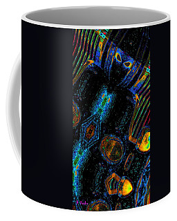 Motorcycle Rider On Venus Coffee Mug