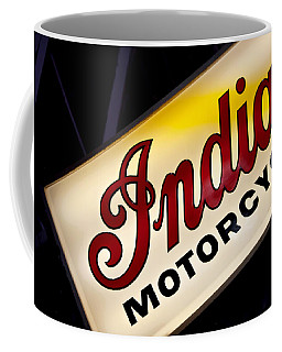 Motorcycle Sign Coffee Mug by Art Block Collections