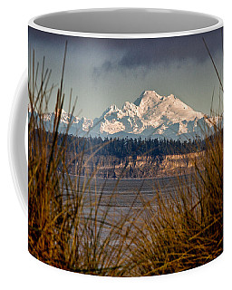 Mount Baker From Port Townsend Coffee Mug