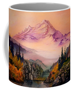 Mount Baker Morning Coffee Mug