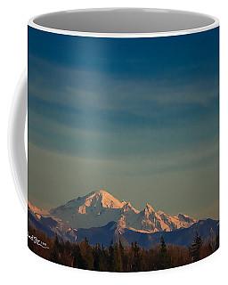 Mount Baker Sunset Coffee Mug