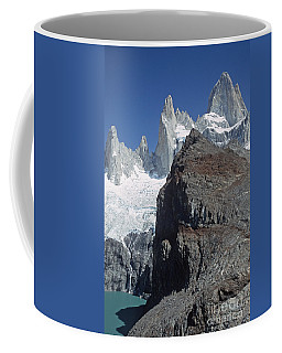 Mount Fitzroy Patagonia Coffee Mug by Rudi Prott
