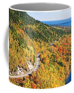 Mount Jordan Pond, Acadia National Coffee Mug