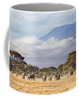 Mount Kilimanjaro Amboseli  Coffee Mug