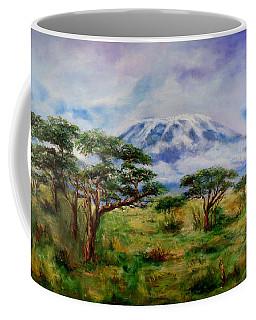 Mount Kilimanjaro Tanzania Coffee Mug