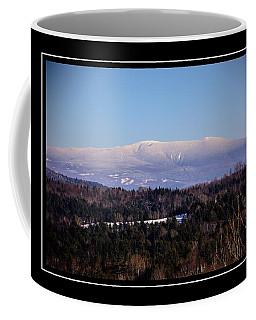 Mount Moosilauke Snowy Blanket Coffee Mug