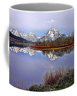 Mount Moran And Jackson Lake Coffee Mug by Gary Holmes