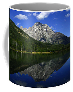 Mount Moran And String Lake Coffee Mug