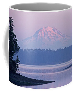Mount Rainier Evening Coffee Mug