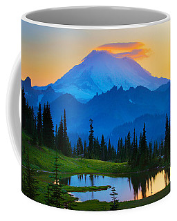 Mount Rainier Goodnight Coffee Mug