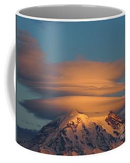 Mount Rainier In November  Coffee Mug