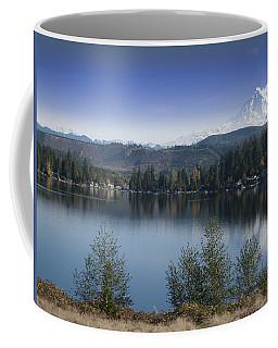 Mount Rainier In The Fall Coffee Mug