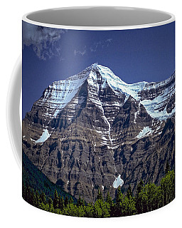 Coffee Mug featuring the photograph Mount Robson by Richard Farrington