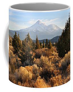 Mount Shasta In The Fall  Coffee Mug