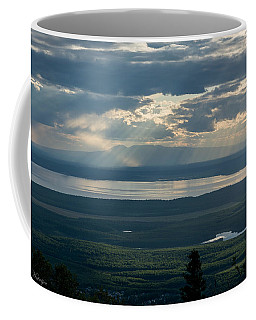 Mount Susitna Coffee Mug by Andrew Matwijec