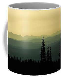Mount Washburn Mist Coffee Mug