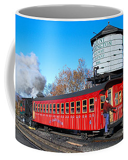 Mount Washington Cog Railway Car 6 Coffee Mug