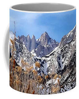 Mount Whitney - California Coffee Mug by Glenn McCarthy Art and Photography