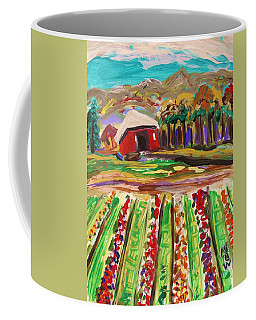 Mountain Farm Coffee Mug by Mary Carol Williams