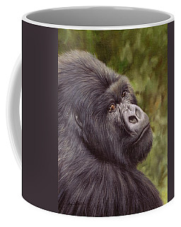 Mountain Gorilla Painting Coffee Mug