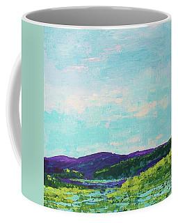 Mountain Lake Coffee Mug by Gail Kent